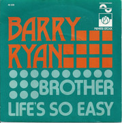 7inch Vinyl Single - Barry Ryan - Brothers / Life's So Easy