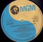 LP - Barry Ryan - Sings Paul Ryan