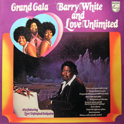 LP - Barry White And Love Unlimited Also Featuring Love Unlimited Orchestra - Grand Gala