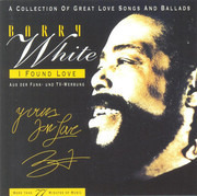 CD - Barry White - I Found Love - A Great Collection Of Great Love Songs And Ballads