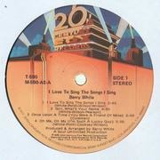 LP - Barry White - I Love To Sing The Songs I Sing