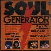 LP - Barry White, Buddy Miles, Ohio Players... - Soul Generator