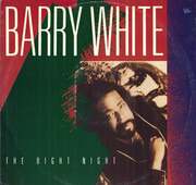 12inch Vinyl Single - Barry White - The Right Night