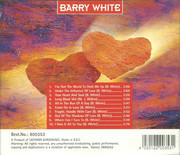 CD - Barry White - Under The Influence Of Love