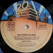 LP - Barry White - Barry White The Man