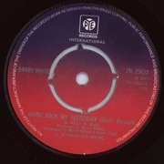 7'' - Barry White - Bring Back My Yesterday