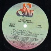 LP - Barry White - Can't Get Enough