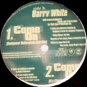 12'' - Barry White - I Only Want To Be With You / Come On