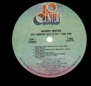LP - Barry White - Just Another Way To Say I Love You - original US