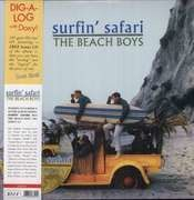 LP - The Beach Boys - Surfin' Safari - incl. CD