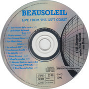 CD - Beausoleil - Live From The Left Coast