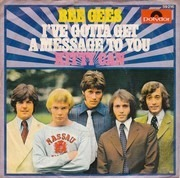 7inch Vinyl Single - Bee Gees - I've Gotta Get A Message To You / Kitty Can