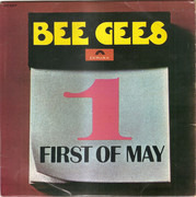 7inch Vinyl Single - Bee Gees - First Of May - Original Portuguese EP