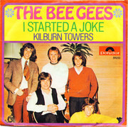 7inch Vinyl Single - Bee Gees - I Started A Joke