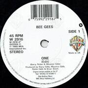 7inch Vinyl Single - Bee Gees - One
