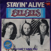 7inch Vinyl Single - Bee Gees - Stayin' Alive