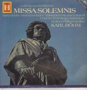 Double LP - Beethoven - Böhm - Missa Solemnis - Mono