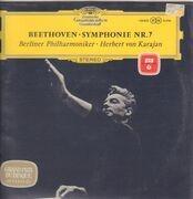LP - Beethoven - Karajan - Berliner Philharmoniker - Symphonie Nr. 7 - tulip rim
