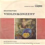 10'' - Beethoven — Herman Krebbers & Residentie Orkest (van Otterloo) - Violinkonzert D-dur op. 61 - Mono