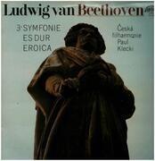 LP - Beethoven - 3. Symfonie Es Dur Eroica,, Ceska filharmonie Paul Klecki