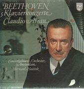 LP-Box - Beethoven - 5 Klavierkonzerte, Claudio Arrau, Haitink, Amsterdam