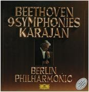 LP-Box - Beethoven - 9 Symphonies, Karajan, Berlin Philharmonic - box + booklet