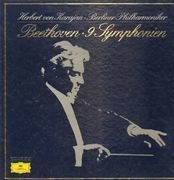 LP-Box - Beethoven - 9 Symphonien,, Karajan, Berliner Philharmoniker - box + booklet