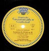LP-Box - Beethoven - 9 Symphonien, Karajan, Berliner Philharmoniker - Exemplar #V 829.