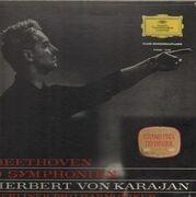 LP-Box - Beethoven - 9 Symphonien, Karajan, Berliner Philharmoniker - box + booklet, tulip rim