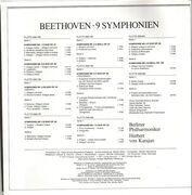 LP-Box - Beethoven - 9 Symphonies,, Karajan, Berlin Philharmonic - box + booklet
