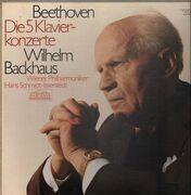 LP-Box - Beethoven - Die 5 Klavierkonzerte, Wilhelm Backhaus, Wiener Philh, Schmidt-Isserstedt