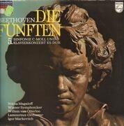 LP - Beethoven - Die Fünften - Sinfonie C-Moll und Klavierkonzert Es-Dur