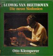 LP - Beethoven - Die neun Sinfonien - box