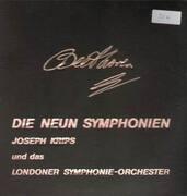 LP-Box - Beethoven - Die Neun Symphonien,, J. Krips und das Londoner Symphonie-Orchester - 7 LPs