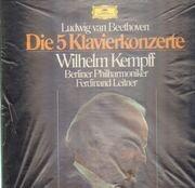 LP-Box - Beethoven - Die 5 Klavierkonzerte (Wilhelm Kempff)