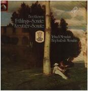LP - Beethoven - Frühlings-Sonate, Kreutzer-Sonate,, Y. Menuhin, H. Menuhin