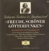 LP - Beethoven - IX. Symph d-moll, Karajan bei der Probe und Aufnahme des 4. Satzes