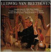 LP-Box - Beethoven - IX. Symphnie d-moll und drei Ouvertüren,, Berliner Philh., Karajan