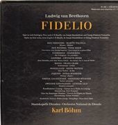 LP - Beethoven/ K. Böhm, G. Jones, E. Mathis, J. King, P. Schreier a.o. - Fidelio - booklet with lyrics