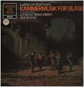 LP - Beethoven - Kammermusik für Bläser,, Londoner Bläsersolisten, Jack Brymer