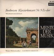 LP - beethoven - Klavierkonzert Nr.5 Es-dur,, Backhaus, Wiener Philh, Clemens Krauss