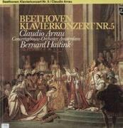 LP - Beethoven - Klavierkonzert Nr.5,, Claudio Arrau, Concertgebouw-Orch, Amsterdam, B. Haitink