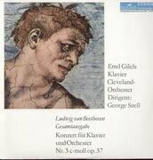 LP - Beethoven - Konzert für Klavier und Orch Nr.3 c-moll op.37,, Emil Gilels, Cleveland Orch, Szell