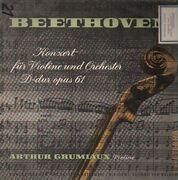 LP - Beethoven - Konzert für Violine und Orchester D-dur,, Arthur Grumiaux (Violine)