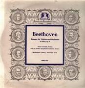 LP - Beethoven - Konzert für Violine und Orch in D-Dur,, D. Oistrakh, Violine und das Bolshoi Symph Orch Moskau, A. Gauk