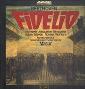 LP-Box - Beethoven / Masur, Rundfunkchor & Gewandhausorch. Leipzig - Fidelio - + Booklet