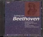 CD - Ludwig Van Beethoven - Meisterwerke Der Klassik