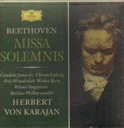 Double LP - Beethoven - Missa Solemnis D-Dur Op. 123 (Karajan) - Hardcoverbox + Booklet