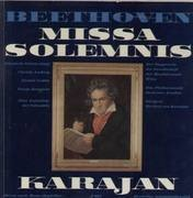 LP-Box - Beethoven - Missa Solemnis,, Karajan, Das Philharmonia Orch London, Der Singverein der Gesellschaft der Musikfreunde Wien