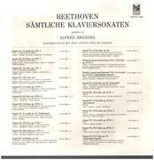 LP-Box - Beethoven - Sämtliche Klaviersonaten - Alfred Brendel, piano - Hardcover Box